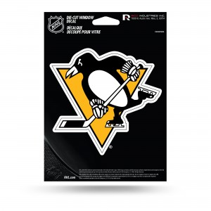 PITTSBURGH PENGUINS MEDIUM DIE CUT DECAL