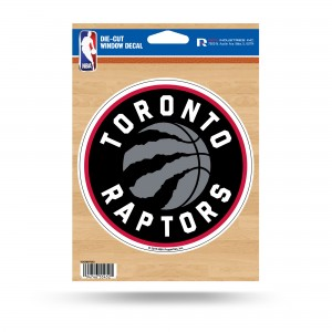 TORONTO RAPTORS NEW LOGO MEDIUM DIE CUT STICKERS