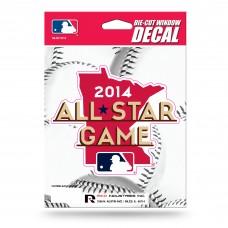 MLB ALL-STAR GAME 2014 MEDIUM DIE CUT VINYL DECAL