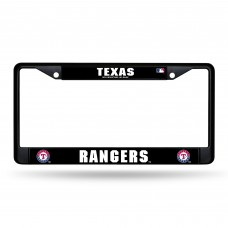 TEXAS RANGERS BLACK CHROME FRAME