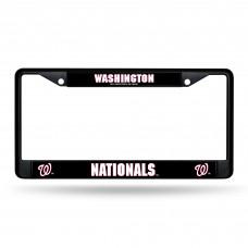 WASHINGTON NATIONALS BLACK CHROME FRAME