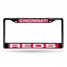 CINCINNATI REDS BLACK LASER CHROME FRAME