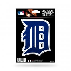 DETROIT TIGERS BLING MEDIUM DIE CUT STICKERS
