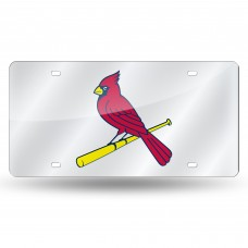 ST LOUIS CARDINALS LASER TAG (SILVER)