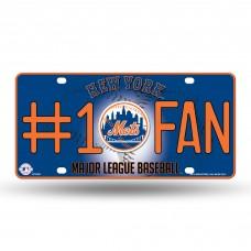 NEW YORK METS #1 FAN METAL TAG