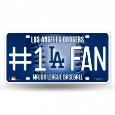 dodgers bling 1 fan metal tag