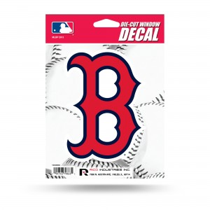 BOSTON RED SOX B LOGO MEDIUM DIE CUT STICKERS