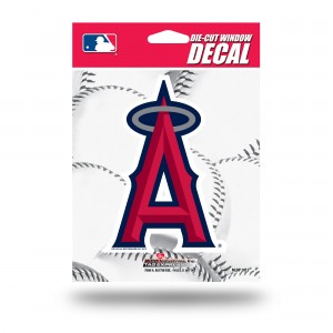 ANAHEIM ANGELS MEDIUM DIE CUT STICKERS