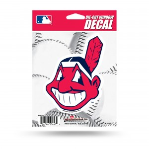 CLEVELAND INDIANS MEDIUM DIE CUT STICKERS