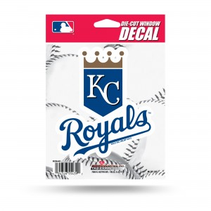 ROYALS MEDIUM DIE CUT DECAL