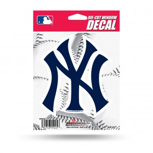 NEW YORK YANKEES MEDIUM DIE CUT STICKERS