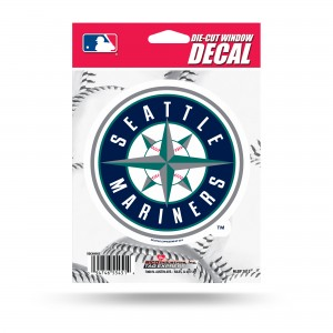 SEATTLE MARINERS MEDIUM DIE CUT STICKERS