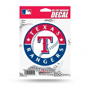 TEXAS RANGERS MEDIUM DIE CUT STICKERS