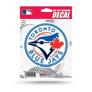 TORONTO BLUE JAYS MEDIUM DIE CUT STICKERS