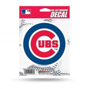 CHICAGO CUBS MEDIUM DIE CUT STICKERS