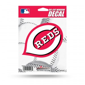 CINCINNATI REDS MEDIUM DIE CUT STICKERS