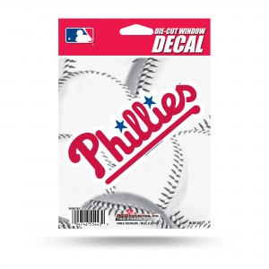 PHILLIES MEDIUM DIE CUT DECAL