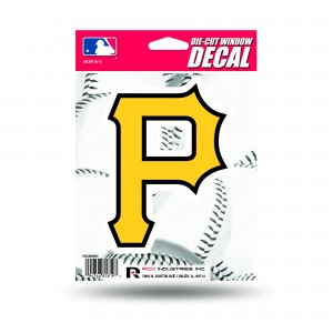 PITTSBURGH PIRATES MEDIUM DIE CUT DECAL