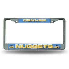 DENVER NUGGETS CHROME COLORADO LICENSE PLATE FRAME