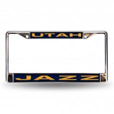 UTAH JAZZ BLUE LASER CHROME FRAME