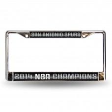 SPURS NBA CHAMP LASER CHROME FRAME