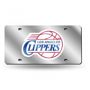 L.A. CLIPPERS LASER CALIFORNIA LICENSE PLATE