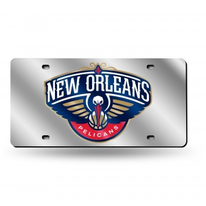 NEW ORLEANS PELICANS LASER LOUISIANA LICENSE PLATES