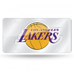 L.A. LAKERS LASER CALIFORNIA LICENSE PLATE
