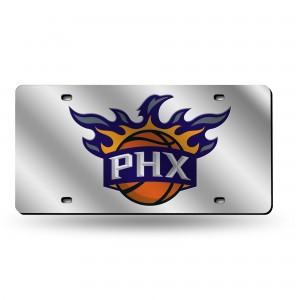 PHOENIX SUNS SILVER ARIZONA LICENSE PLATES