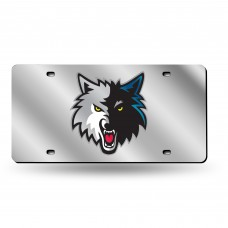 TIMBERWOLVES NEW LOGO LASER TAG (SILVER)