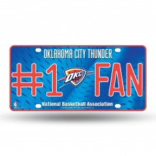 OKLAHOMA CITY THUNDER #1 FAN METAL TAG