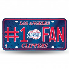 LOS ANGELES CLIPPERS #1 FAN METAL TAG
