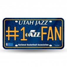UTAH JAZZ #1 FAN METAL TAG