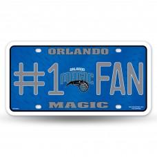 ORLANDO MAGIC #1 FAN METAL TAG