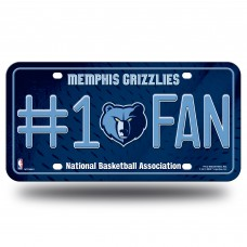 MEMPHIS GRIZZLIES #1 FAN METAL TAG
