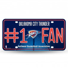 THUNDER BLING # 1 FAN METAL TAG