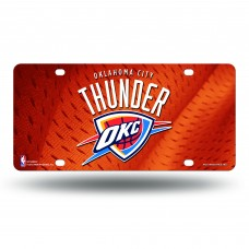 OKLAHOMA CITY THUNDER ORANGE METAL TAG