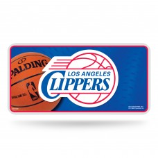 LOS ANGELES CLIPPERS METAL TAG