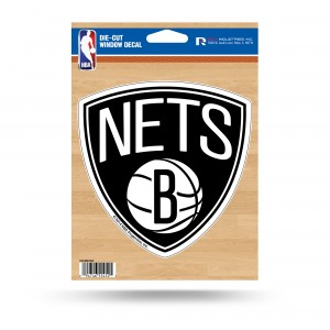 BROOKLYN NETS MEDIUM DIECUT STICKERS