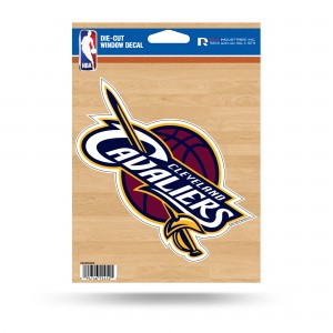 CLEVELAND CAVALIERS MEDIUM DIE CUT STICKERS