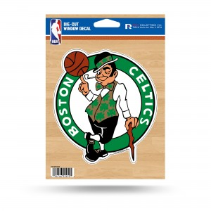 BOSTON CELTICS MEDIUM DIE CUT STICKERS