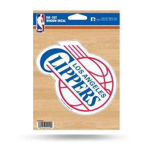 LA CLIPPERS MEDIUM DIE CUT STICKERS
