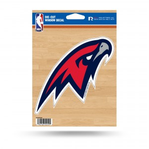 ATLANTA HAWKS MEDIUM DIE CUT STICKERS