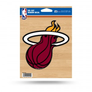 MIAMI HEAT MEDIUM DIE CUT STICKERS