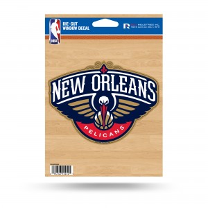 NEW ORLEANS PELICANS MEDIUM DIECUT STICKERS