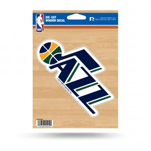 UTAH JAZZ MEDIUM DIE CUT STICKERS