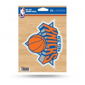 KNICKS MEDIUM DIE CUT STICKERS