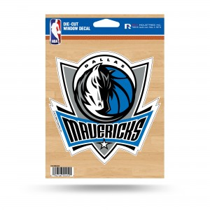 DALLAS MAVERICKS MEDIUM DIE CUT STICKERS