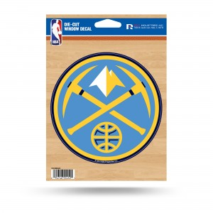 DENVER NUGGETS MEDIUM DIE CUT STICKERS