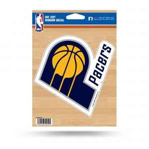 INDIANA PACERS MEDIUM DIE CUT STICKERS